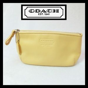 Coach Leather Genuine Small Make Up Bag